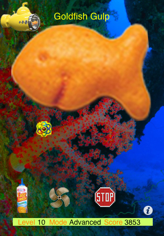 Screenshot Goldfish Gulp