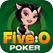 Five-O-Poker HD Five-O Poker: Free Live Heads Up Card Game Play 5 poker hands at once icon